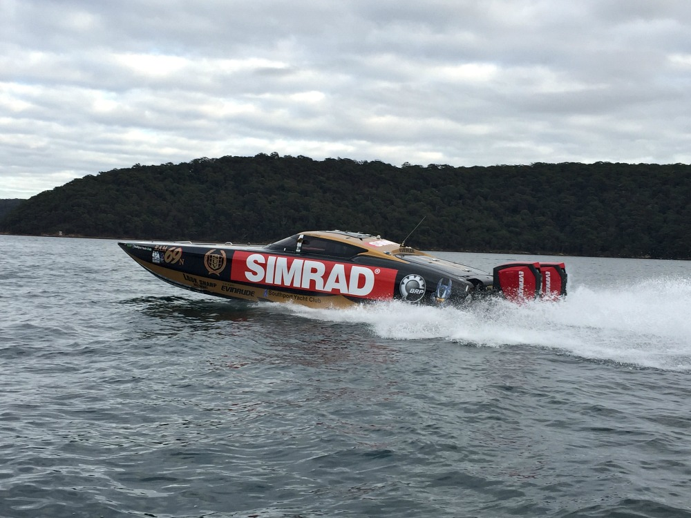 SIMRAD® sponsorship supports Australian Offshore Superboat Championship racers
